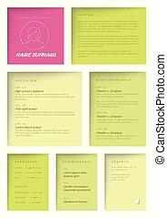 moderne, sombre, gabarit, timeline, infographic, -, rapport, version