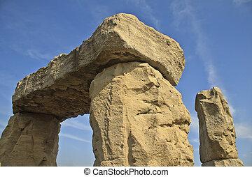 moderne, stonehenge