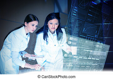 moderne technologien, in, medizinprodukt