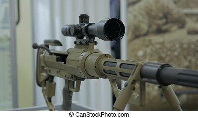 moderne, tireur embusqué, fusil