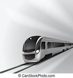 moderne, train grande vitesse, 2