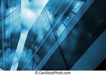 moderne, verre, architecture