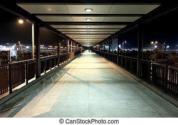 moderne, voetbrug