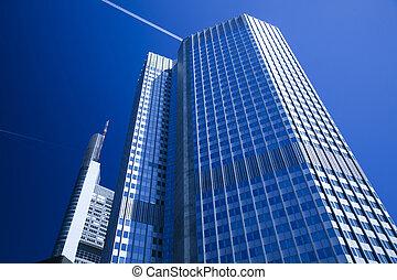 moderne zaken, gebouw