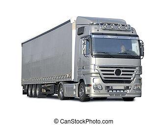 moderner, camion