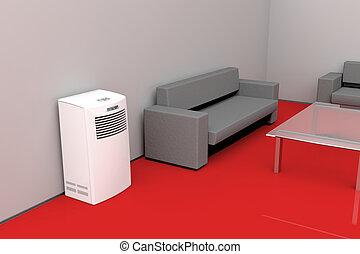 konditionierer kalte blasen luft blasen luft stock illustration suche clipart. Black Bedroom Furniture Sets. Home Design Ideas