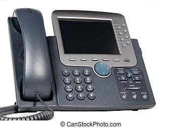 modernes geschäft, telefon