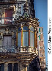 modernism building - modernism style building in Tarragona, ...
