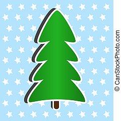 Dibujo de moderno rbol navidad moderno rbol saludo - Arbol navidad moderno ...