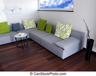 moderno, apartamento