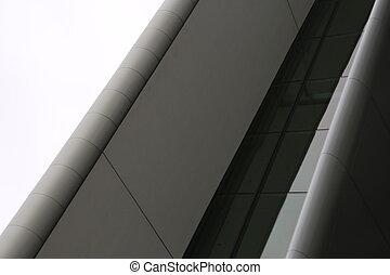 moderno, architettura, dettaglio