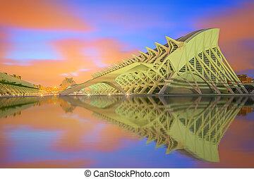 moderno, arquitectura europea, valencia