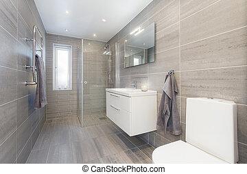 moderno, bagno