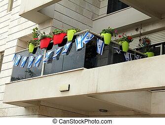 moderno, balcone