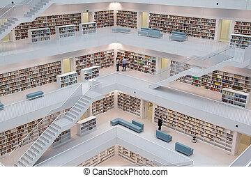 moderno, biblioteca