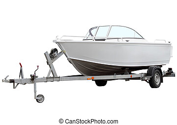 moderno, boat., motor