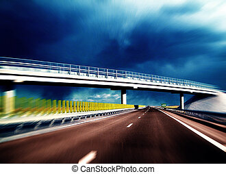 moderno, carretera