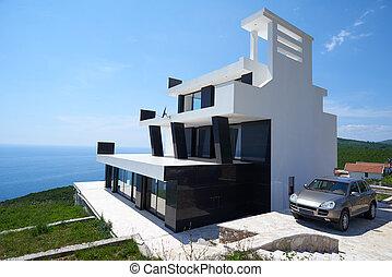 moderno, casa