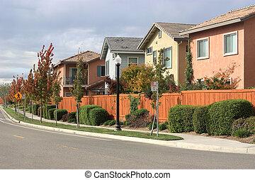 moderno, casas