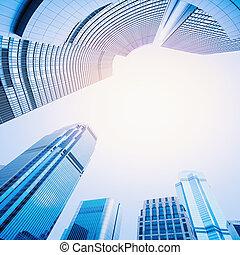 moderno, centro, empresa / negocio