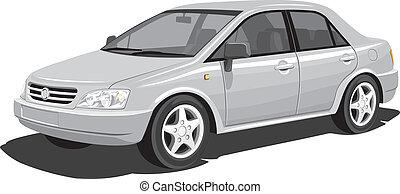 moderno, coche