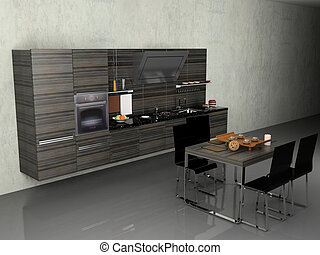 moderno, cucina