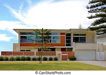Casa stile ranch gazebo moderno area moderno for Piani di casa in stile ranch con cantina