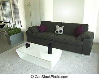 moderno, divano