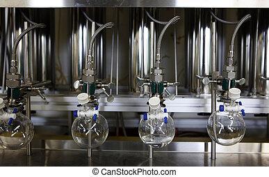 moderno, equipo de química