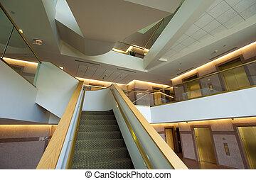 moderno, escalera