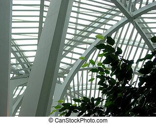 moderno, estructura, fragmento