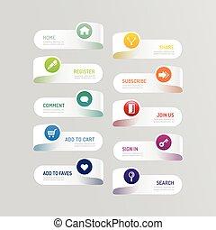 moderno, infographic, diseño, resumen, disposición, bandera,...