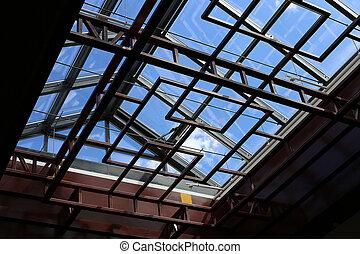 Moderno lucernario costruzione finestra moderno tetto for Finestra lucernario