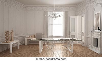 Camino Classico Bianco : Soggiorno classico con camino stunning idee per arredare salotto