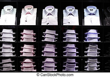 moderno, moda, veste conservi