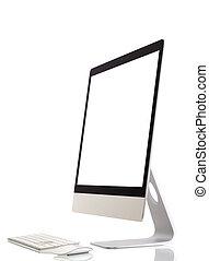 moderno, monitor computer