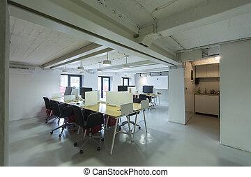 moderno, oficina