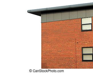 moderno, oficina vacía, edificio