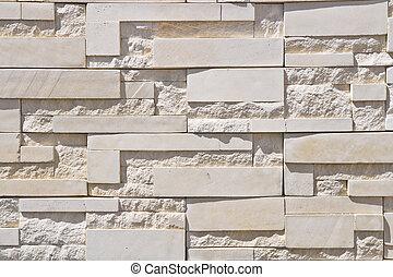 moderno, pared ladrillo