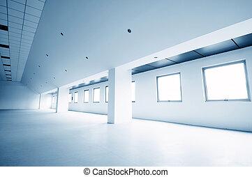 moderno, pasillo