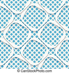 moderno, patrón,  seamless, enrejado, Plano de fondo,  origami,  3D