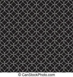 moderno, pattern., seamless, texture., vector, plano de ...