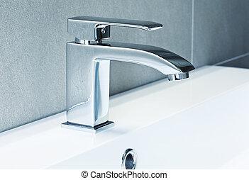 moderno, rubinetto