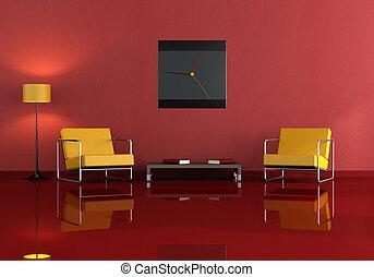 moderno, soggiorno