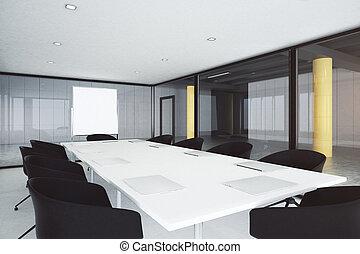 moderno, stanza riunione