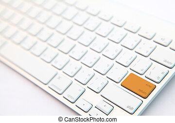 moderno, teclado