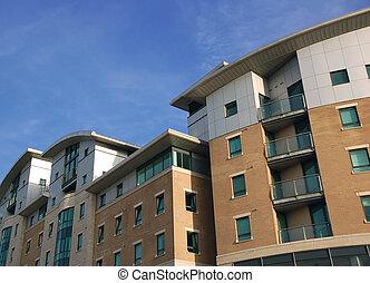 modernos, apartamentos, 5