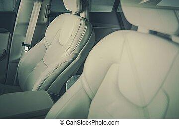 modernos, assentos carro