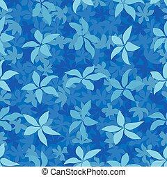 modernos, céu azul, foliage, fundo, monotone, padrão, folhas