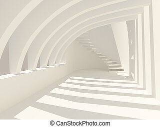 modernos, corredor